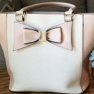 White & Pink purse